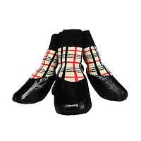 Водонепроницаемые носки для собак Dobaz WP размер 6 (4шт) разных цветов