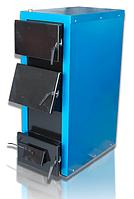 Твердотопливный котел Кобзар 40Ч с терморегулятором и люком для чистки теплообменника (30 кВт)
