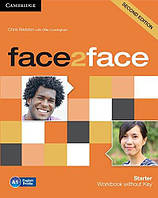 Face2face 2nd Edition Starter WB - key