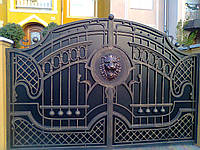 Ворота кованые Бостон