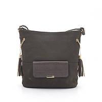 Женская сумка-клатч 954 т. коричневая