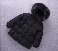 Черная демисезонная куртка для мальчика 2,3,4,5,6 лет( на рост 98,100,100,110,115,120,125)