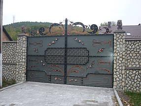 Ворота кованые Кременець, Кременець плюс