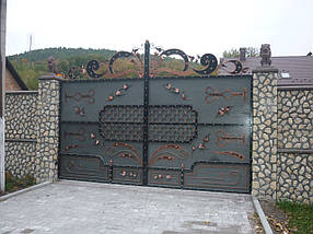 Ворота кованые Кременец, Кременец плюс