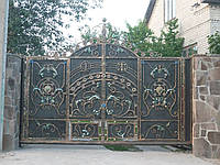 Ворота кованые Сириус, Сириус плюс