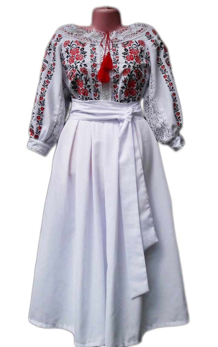 """Женское вышитое платье """"Керрин"""" PK-0005"""