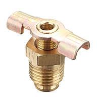 1/4 NPT латунный сливной клапан для воздушного компрессора с сопротивлением коррозии