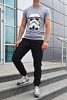 "Футболка серая Stormtrooper бренд ""ТУР"""