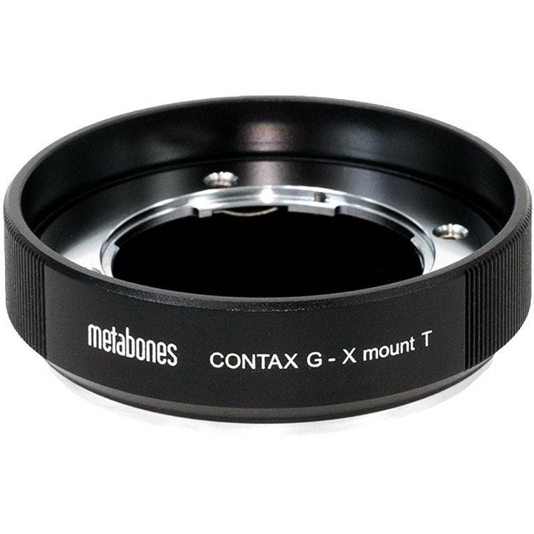 Metabones Contax G Lens to Fujifilm X-Mount Camera T Adapter (Black) (MB_CG-X-BT1)