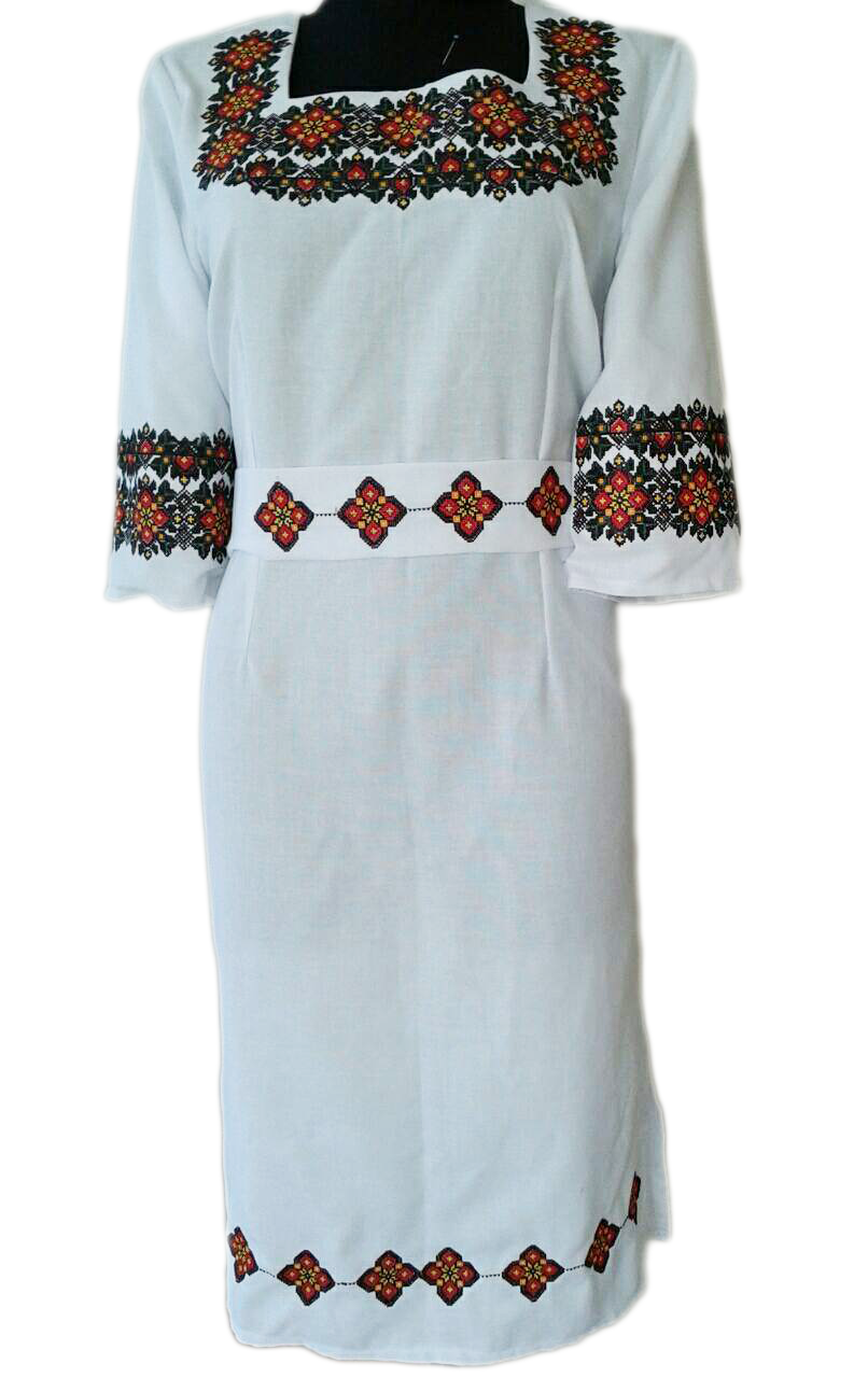 "Жіноче вишите плаття ""Претті"" (Женское вышитое платье ""Претти"") PU-0014"