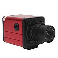 14MP Цифровой C-mount микроскоп TF Видео камера Recoder Видеорегистратор с Объектив для лаборатории
