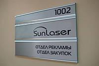 Офисные таблички и знаки для дверей и домов