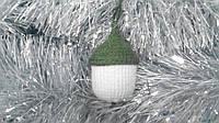 Новогодняя игрушка ручной работы на елку Желудь