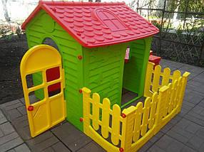 Детский домик со столиком и стульчиком, фото 3