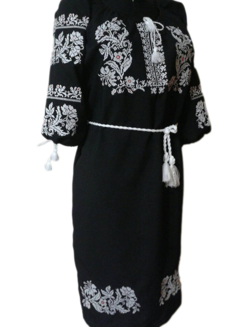 """Жіноче вишите плаття """"Нейтоні"""" (Женское вышитое платье """"Нейтони"""") PU-0015"""