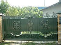 Кованные ворота Ковель