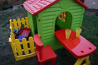 Детский домик со столиком и стульчиком, фото 2