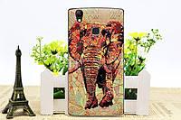 Чехол Бампер для Doogee x5 max / х5 макс pro силиконовый Elephant