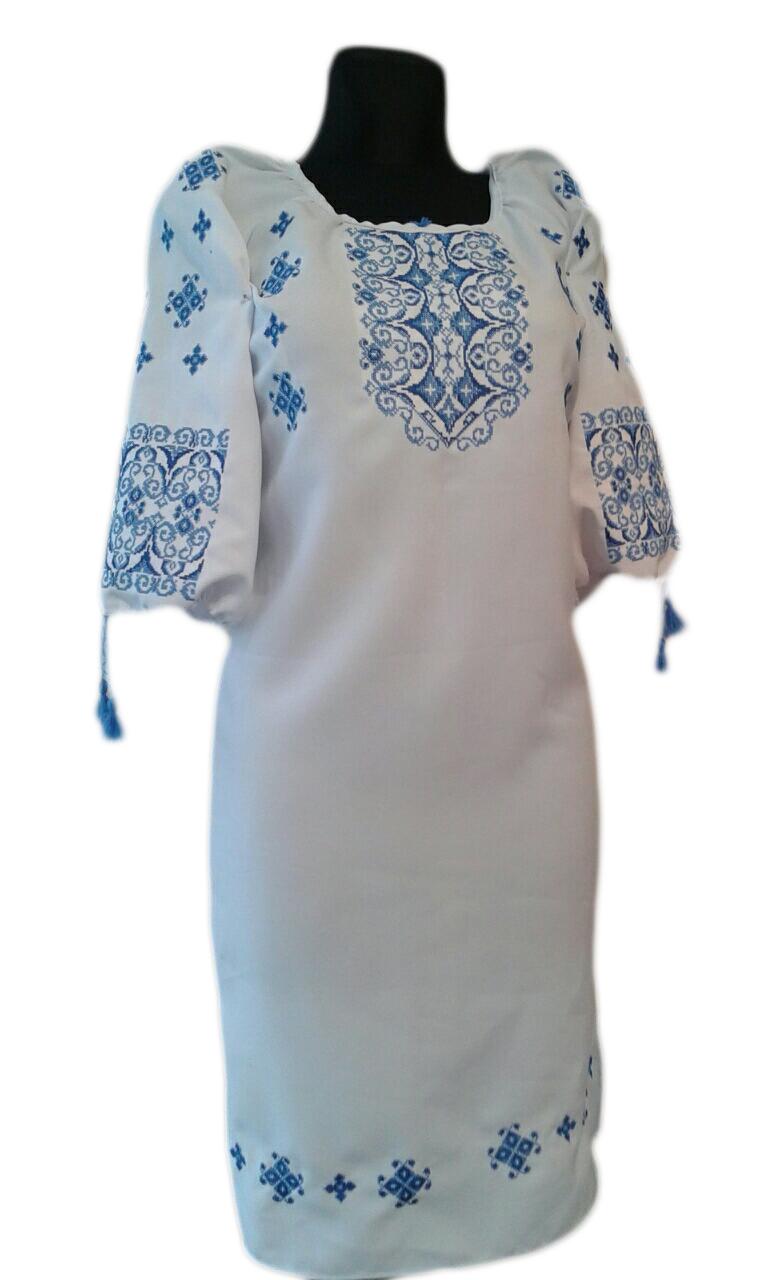 """Жіноче вишите плаття """"Мегалін"""" (Женское вышитое платье """"Мегалін"""") PU-0016"""
