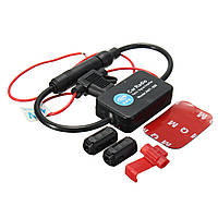 12V Авто Стерео для грузовиков Антенна FM AM Радио Встроенный сигнал AMP Усилитель Booster