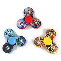ПластиковыйTri-SpinnerВращающийсяFidgetHandSpinner ADHD Аутизм Уменьшить стресс Фокус Внимание Игрушки