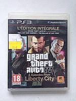 Видео игра Grand Theft Auto 4 and Episodes from Liberty City (PS3)