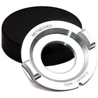 Metabones C-Mount Lens to Micro Four Thirds Lens Mount Adapter (Chrome) (MB_C-M43-CH3), фото 1