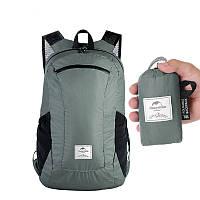 Naturehike 18L Рюкзак для кемпинга и пешего туризма Сверхлегкий водонепроницаемый складной рюкзак для путешествий на открытом воздухе