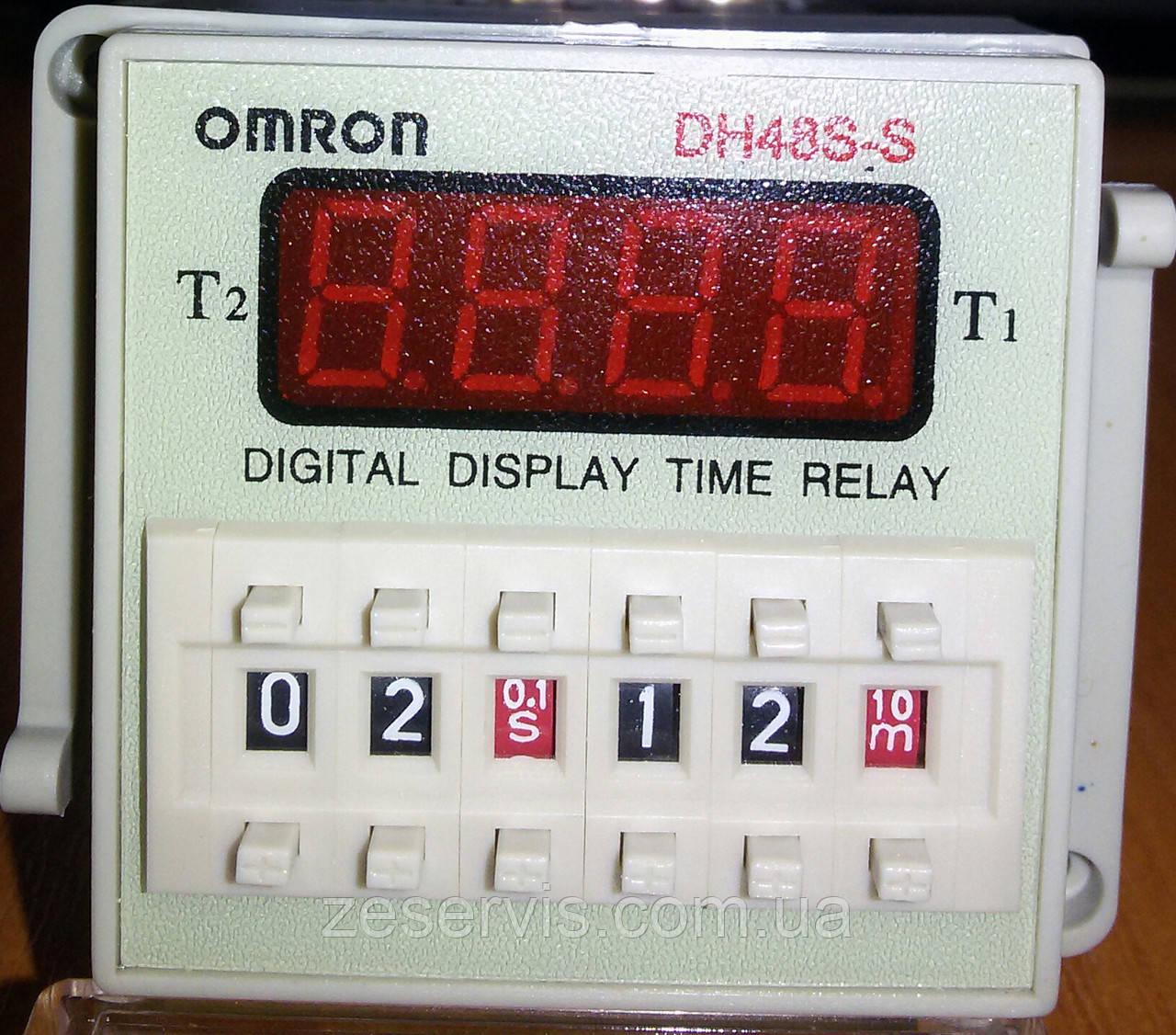 Циклічне реле часу DH48S-S 1Z 220VAC (OMRON)