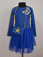Нарядное детское платье для девочек разные цвета, фото 1