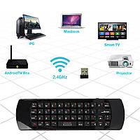 2.4GHz клавиатура беспроводная мышь воздуха инфракрасный пульт дистанционного управления аудио чат для обучения Проектор ПК K25A рИИ i25a