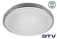 Накладной светильник GTV ATLANTIS-OK LED 16Вт 960lm 4000K IP54, алюминий