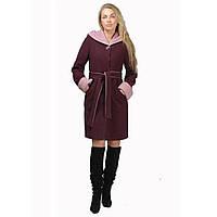 """Демисезонное женское пальто с капюшоном Sappo """"TM Эвелина"""""""