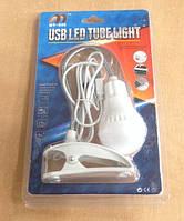 Лампа USB LED с зажимом