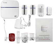 Комплект бездротової GSM сигналізації 868 MHz Smart & Safe SS-1 Wi-Fi GSM PoliceCam
