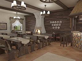 Деревянная мебель для ресторанов, баров, кафе в Житомире от производителя