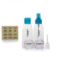 Honana BX-310 Refillable косметические баллы бутылки бутылки бутылки доказательство путешествия бутылки 4 шт/комплект