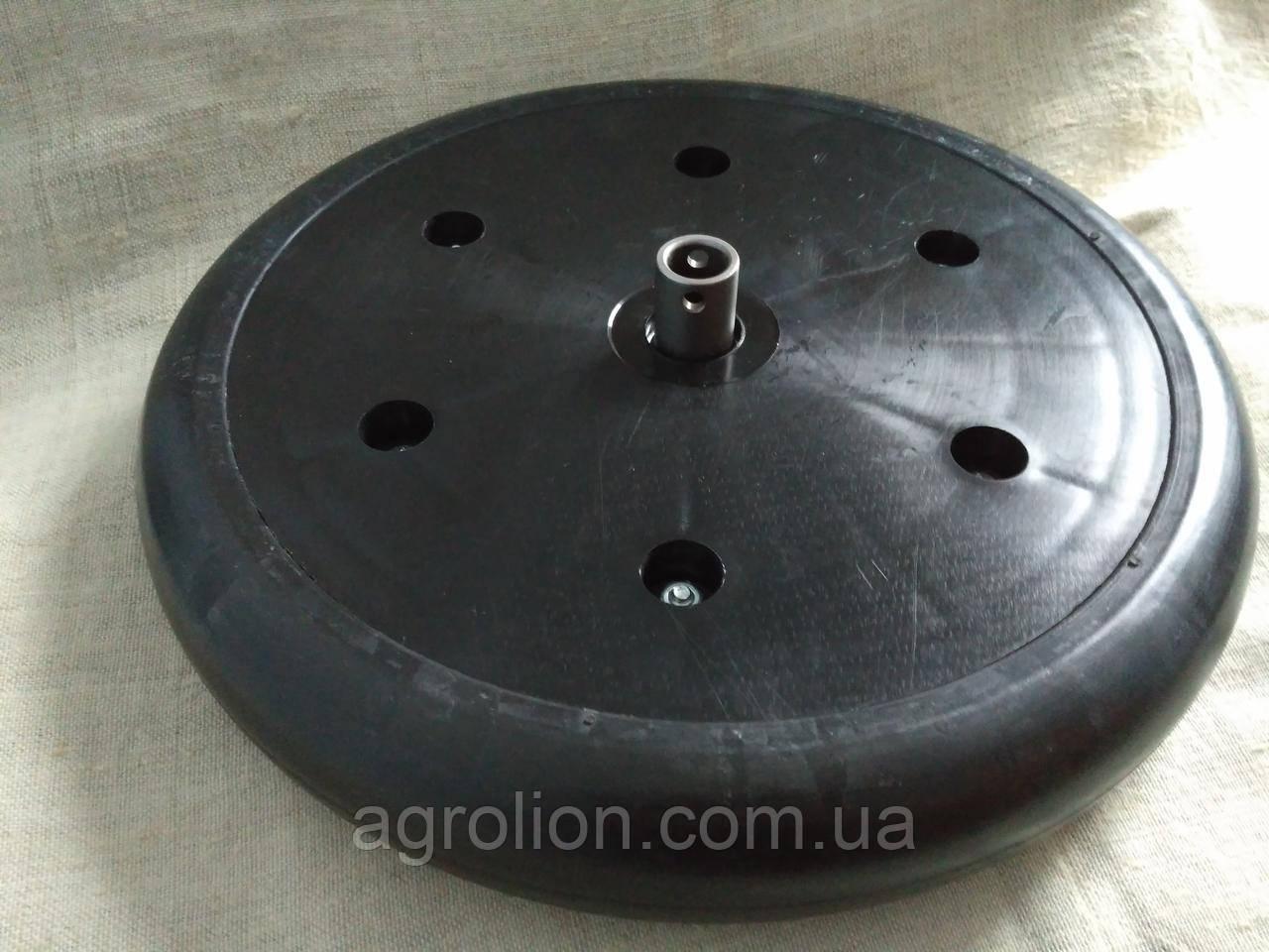 """Прикотуюче колесо в зборі ( диск поліамід) 2"""" x 13"""" F06120440 Gaspardo."""