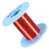 Suleve ™ CW01 0,2 мм × 100 м Красный Медь Магнит Провод Сварочный кабель Эмаль Провод