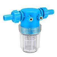 3/4 дюймов 20-миллиметровая шайба высокого давления Универсальный фильтр для воды в линии Шланг Вход Quick Коннектор