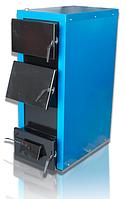 Твердотопливный котел Кобзар 60Ч с терморегулятором и люком для чистки теплообменника (60 кВт)