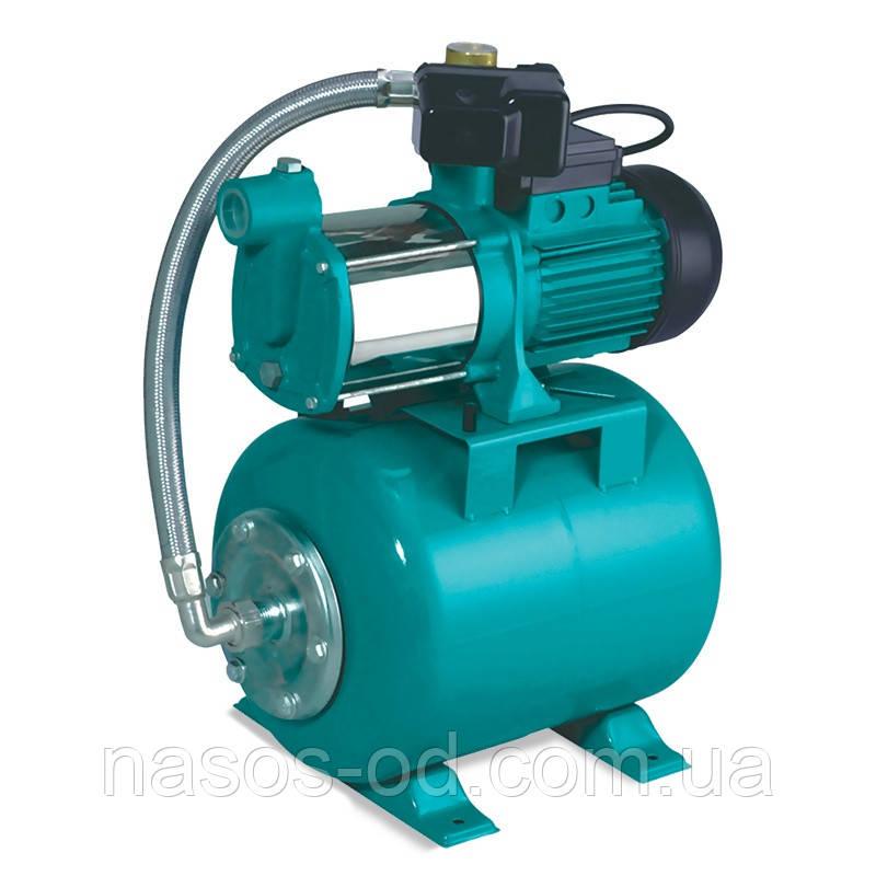 Насосная станция гидрофор Leo для воды 0.75кВт Hmax44м Qmax90л/мин (многоступенчатый насос) 24л (776412)