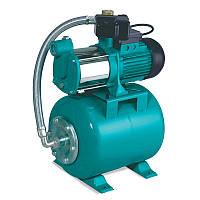 Насосная станция гидрофор Leo для воды 0.6кВт Hmax34м Qmax80л/мин (многоступ. насос) 24л