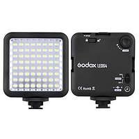 Godox LED64 LED Лампы заполняющий свет для цифровой зеркальной камеры видеокамеры Mini DVR интервью макрофотографии