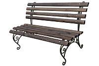 "Кованая скамейка для сада ""Славута"" (L = 1500 mm)"