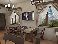 Деревянная мебель для ресторанов, баров, кафе в Каневе, фото 1