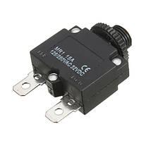 3шт переменного тока 125В/250В кнопка 15а кнопка сброса для быстрого подключения автоматического выключателя