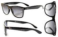Солнцезащитные очки Ray Ban Wayfarer мужские и женские, защита UV400,глянцевые