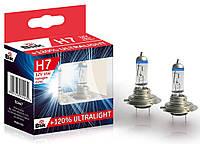 Автолампы Blik Н7 12V/55W PX26D +120 Ultralight
