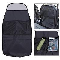 Защитный чехол с карманами на спинку сиденья Авто